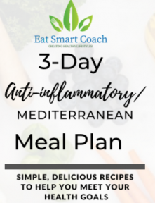 Anti-Inflammatory Mediterranean 3 Day Meal Plan